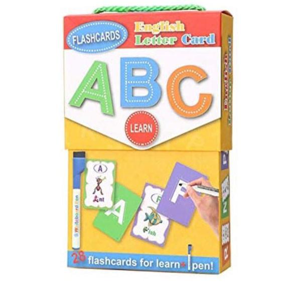 البطاقات التعليمية لتعلم الحروف الانجليزية