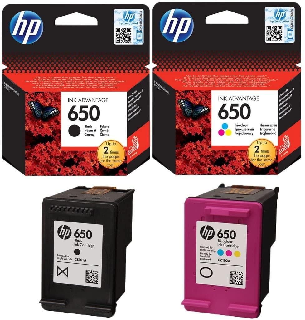 HP- 650  Ink