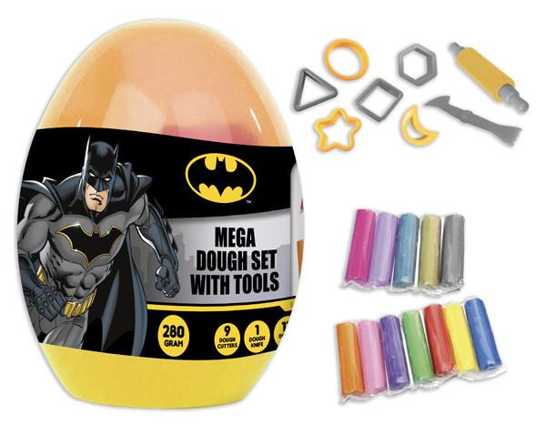 بيضة الصلصال مع الادوات - باتمان