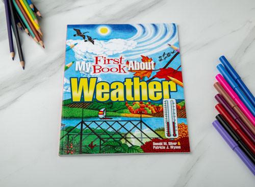 دفتر تلوين وتعليم - الطقس