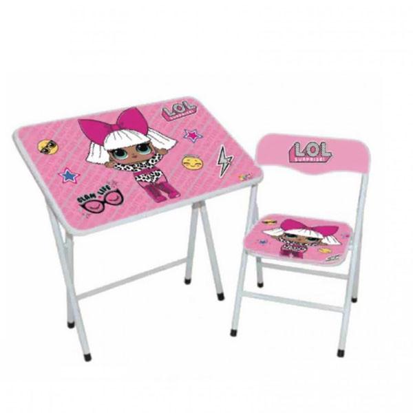 طاولة و كرسي للأطفال - لول