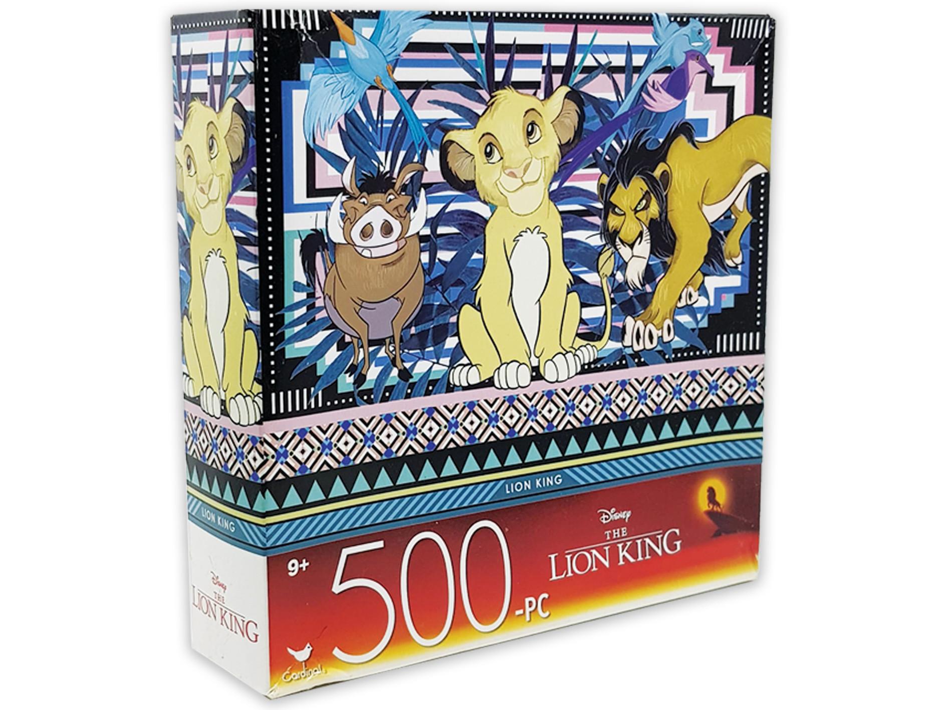 تركيب ديزني ليون كينغ 500 قطعة - 27.9*35.5سم