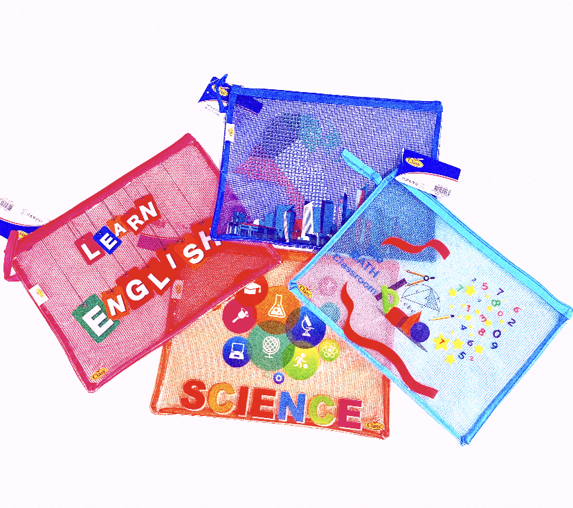 A4 Subjects bag design file